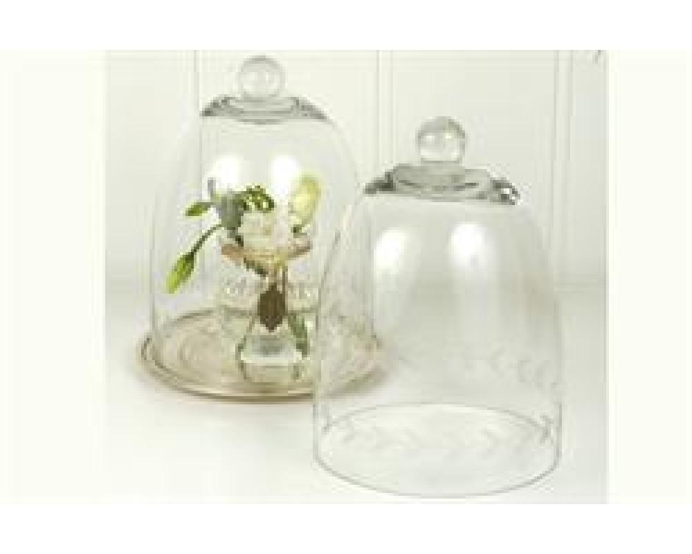 Ib Laursen Glasklokke med slibninger-31