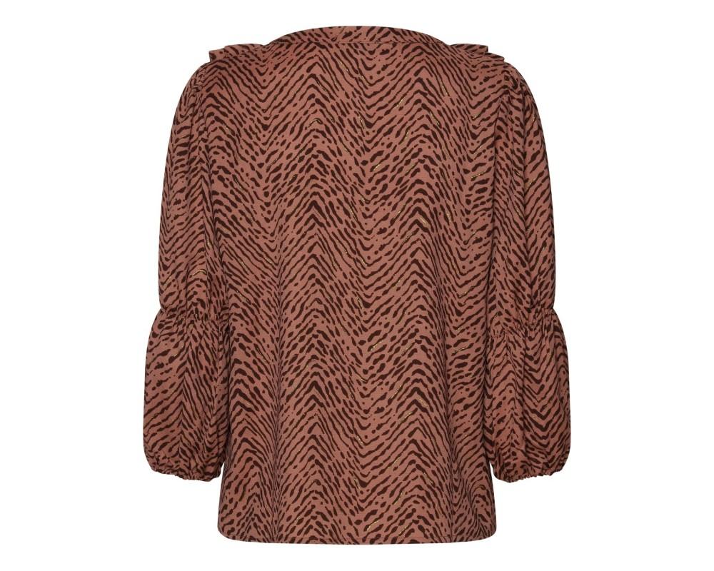 bluse brun continue