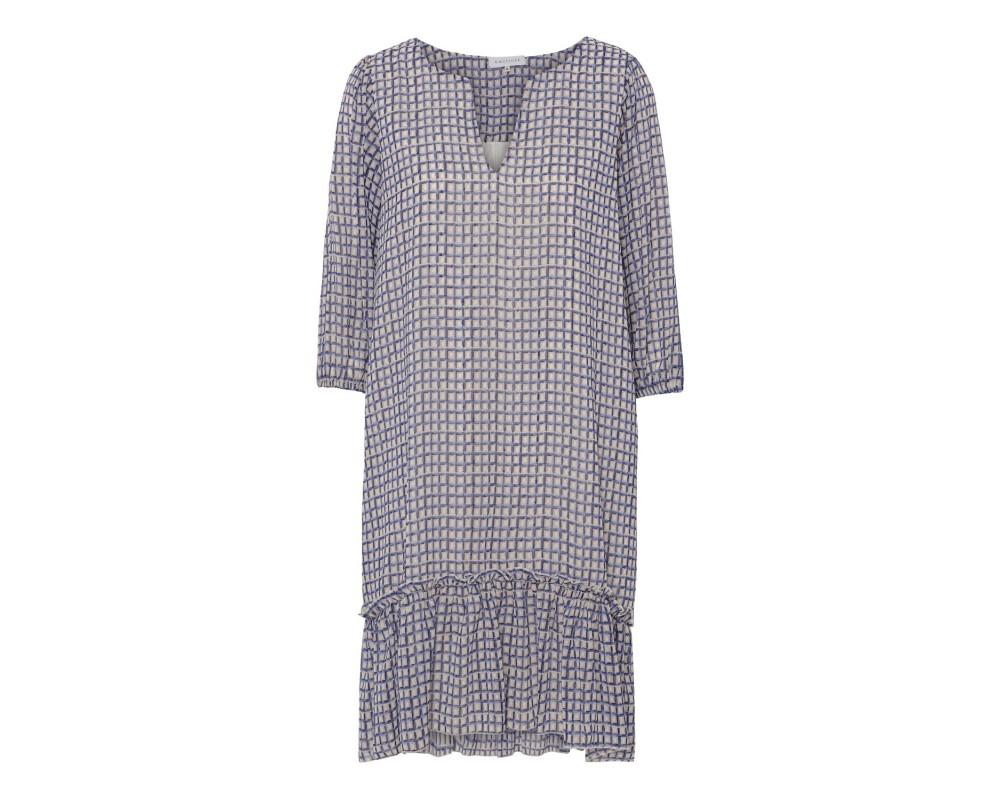 kort ternet kjole continue