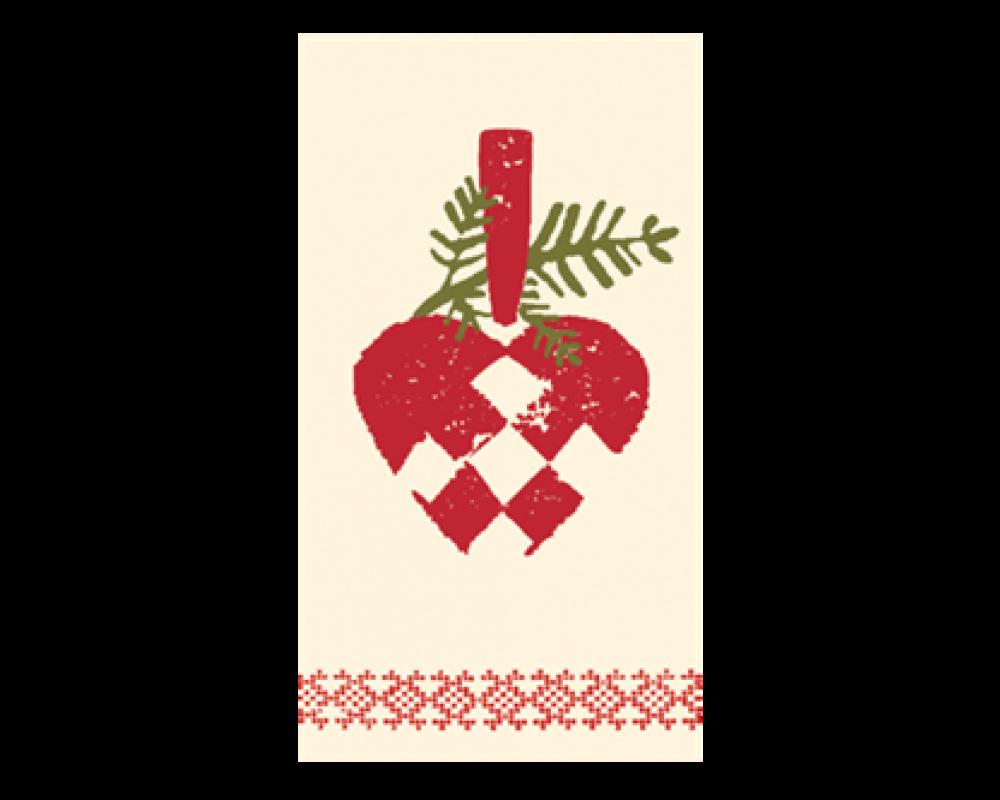 Maileg Servietter Julehjerte-31