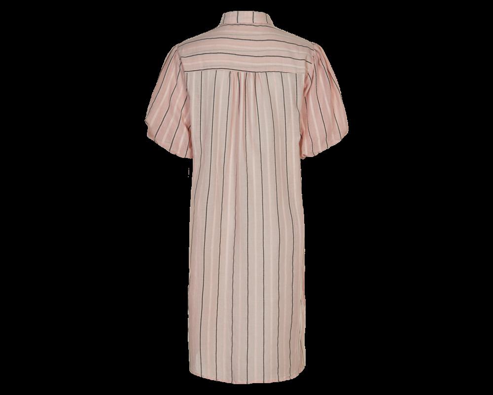 skjortekjole rosa in front