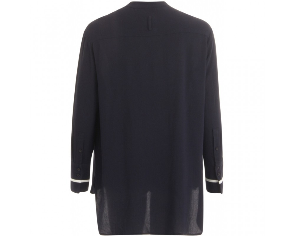 coster copenhagen mørkeblå bluse