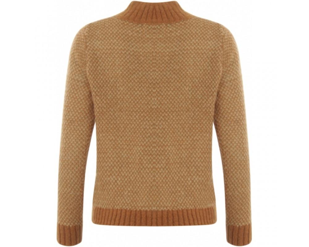 brun striksweater coster copenhagen