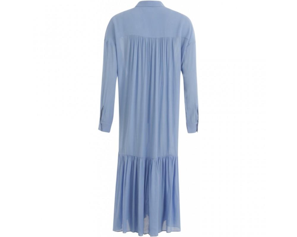 lang kjole coster copenhagen blå