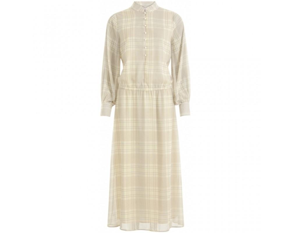 lang kjole langærmet coster copenhagen