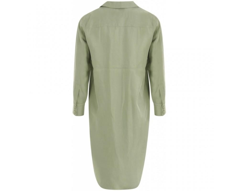 skjorte kjole grøn coster copenhagen