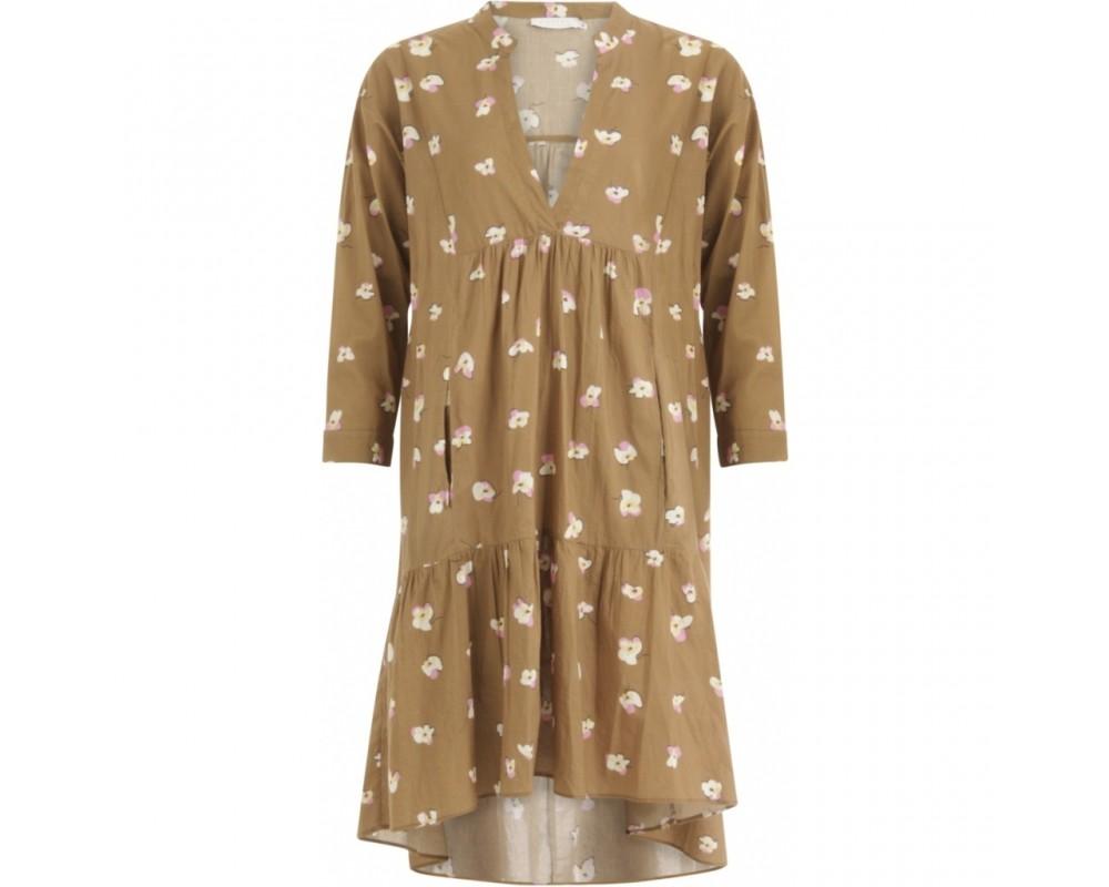 kjole brun coster copenhagen