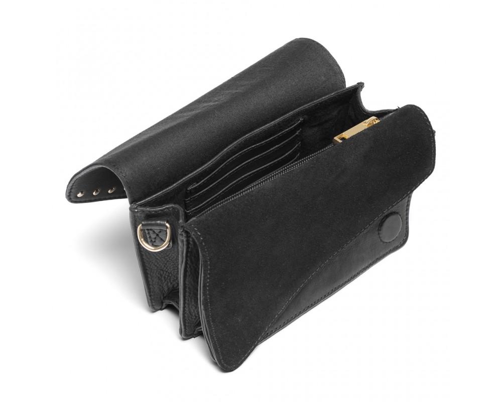 lille taske sort skind depeche