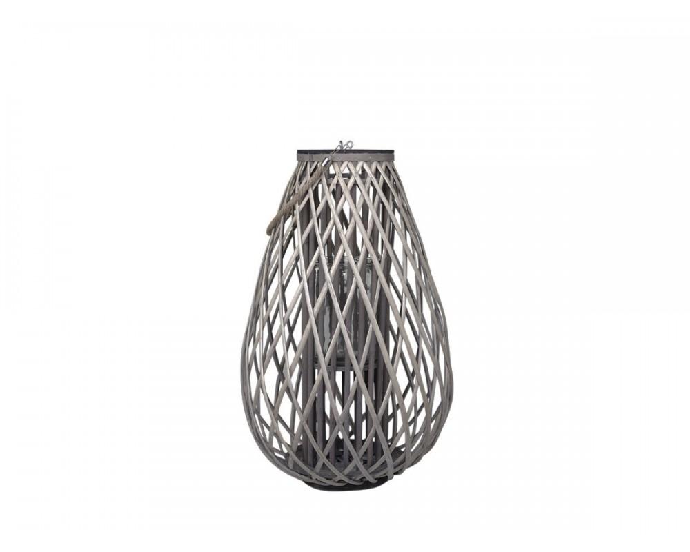 Chic Antique lanterne i flet 25432-00
