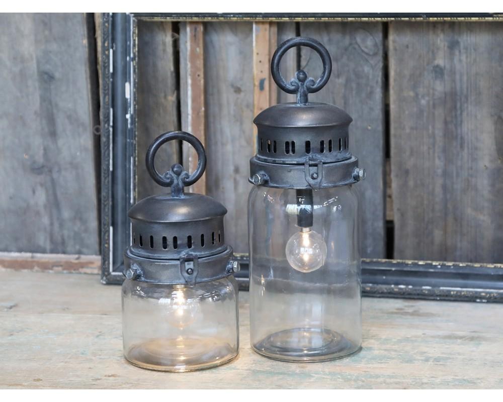 fransk stald lanterne med pærer chic antique