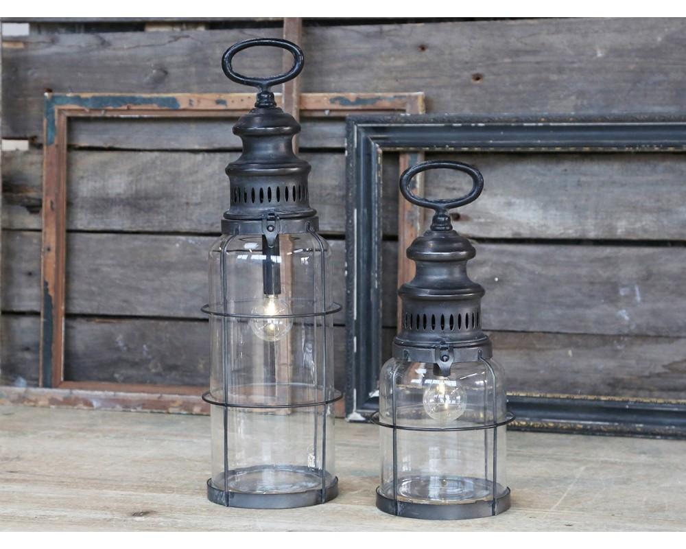 fransk stald lanterne m pære chic antique