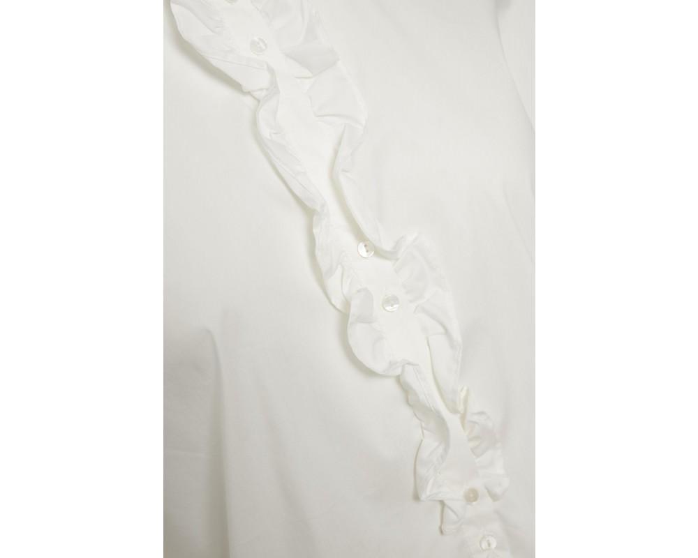 skjortebluse hvid saint tropez