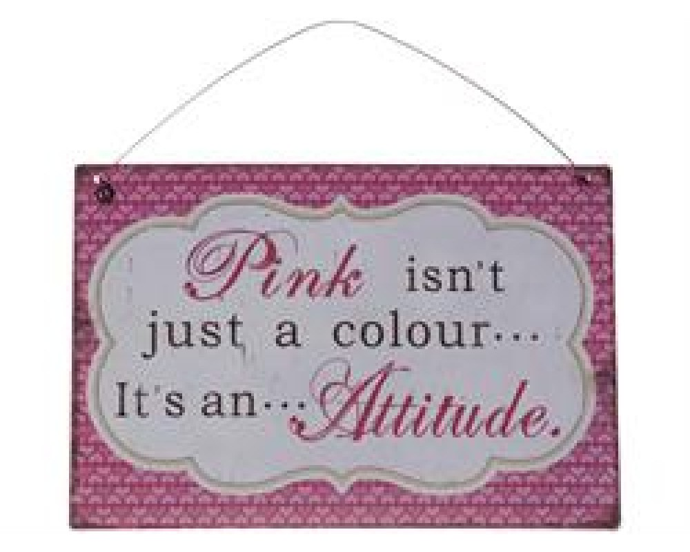 "Chic Antique Metal Skilt "" Pink "" 21x15-31"