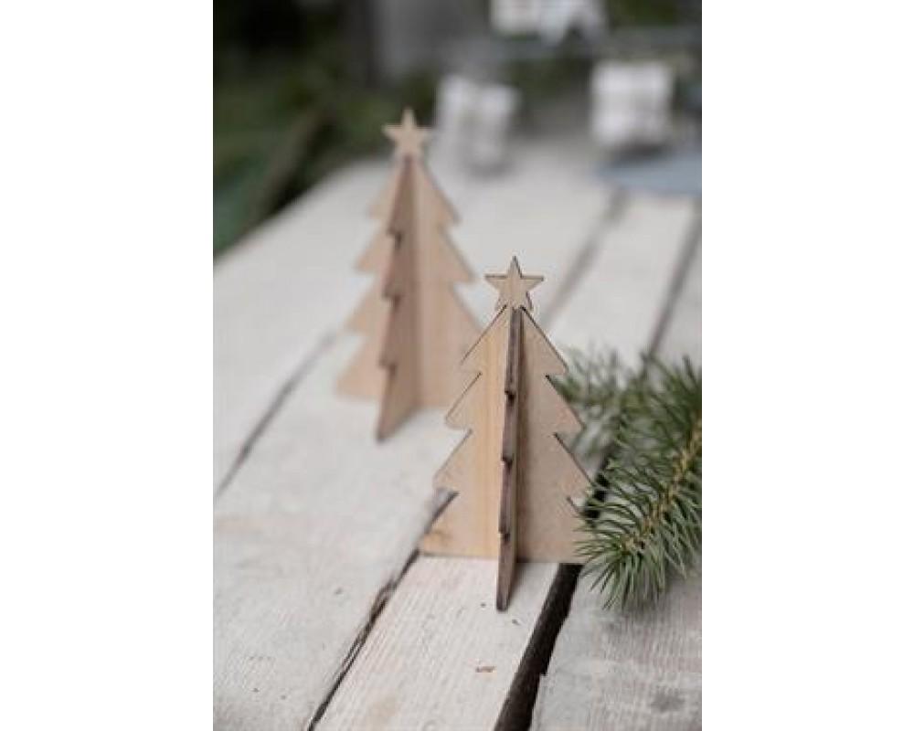 Ib Laursen Juletræ med stjerne Natur-31
