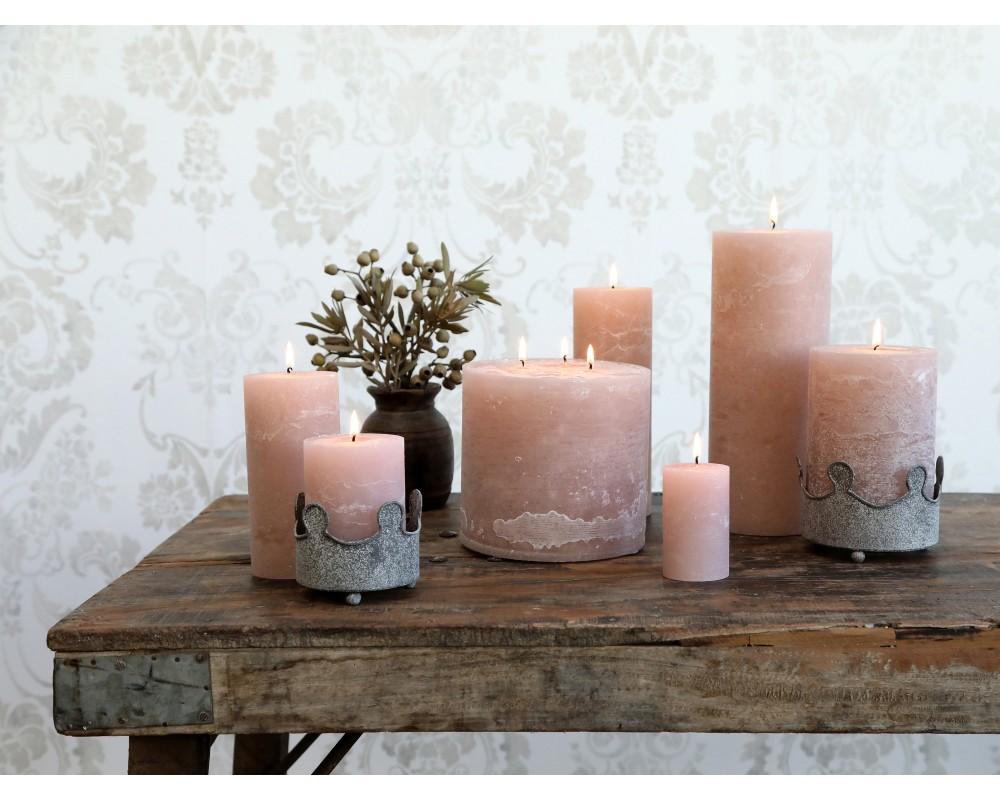 rustik bloklys rosa chic antique