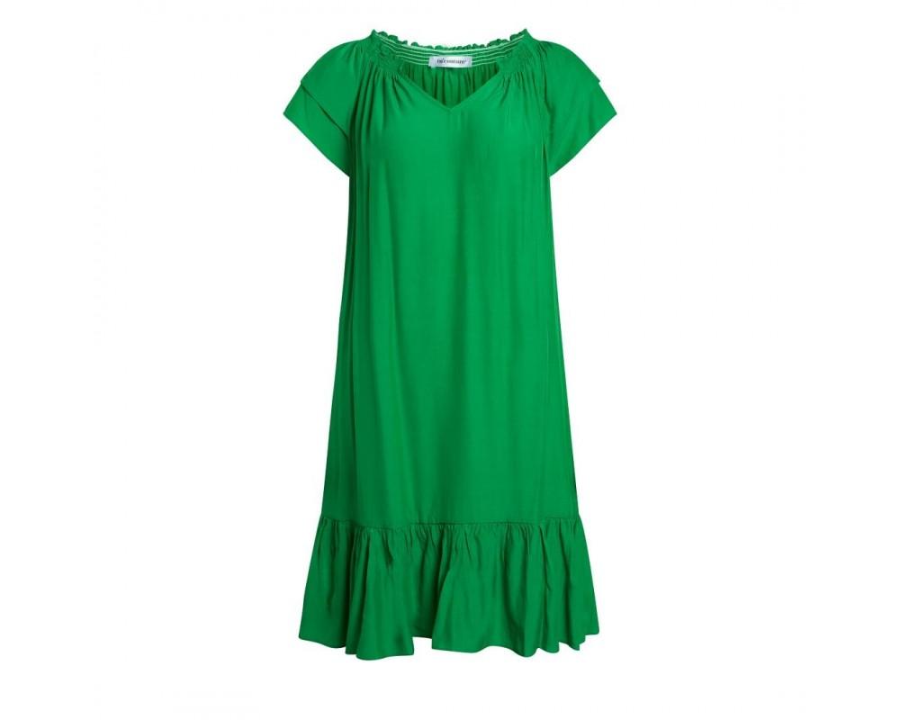 kort kjole grøn co couture