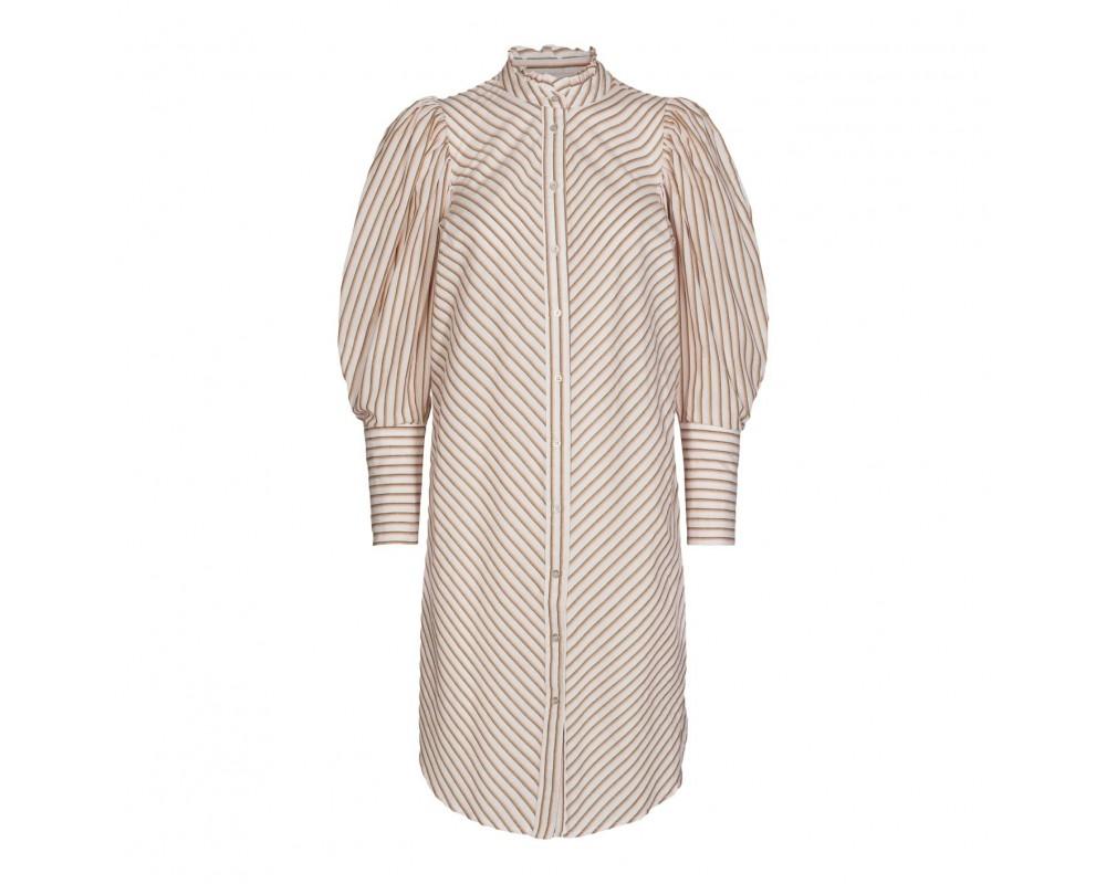 stribet skjortekjole co couture