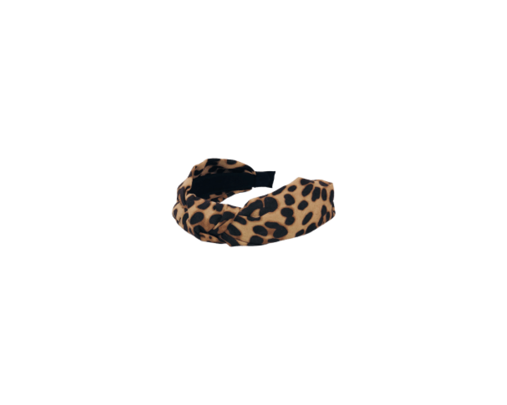 Black Colour Headband natural leo