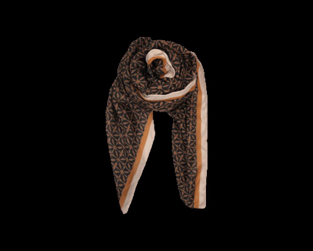 Black Colour scarf Palazzo camel