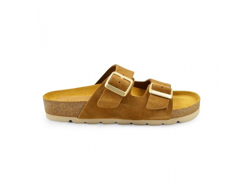 flad sandal ruskind amust