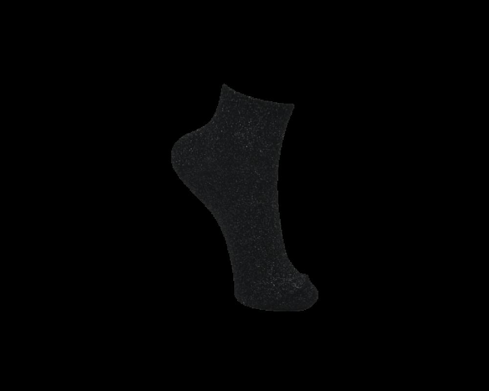 Black colour glimmer strømper
