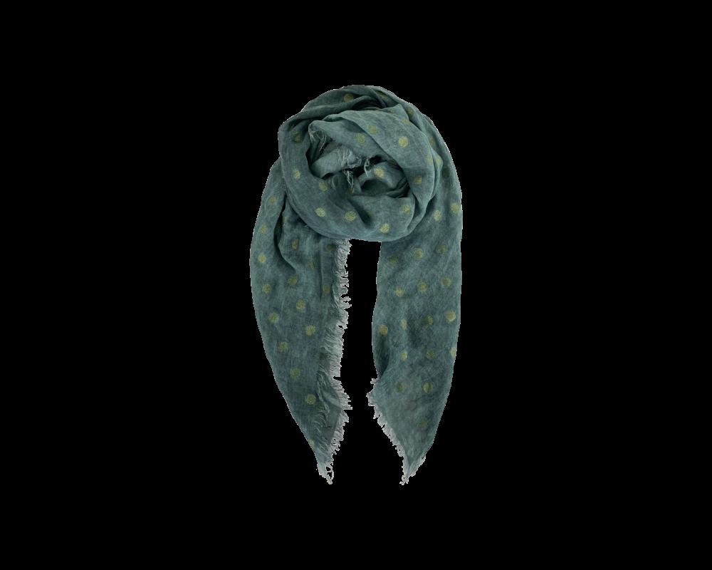 tørklæde grønt black colour