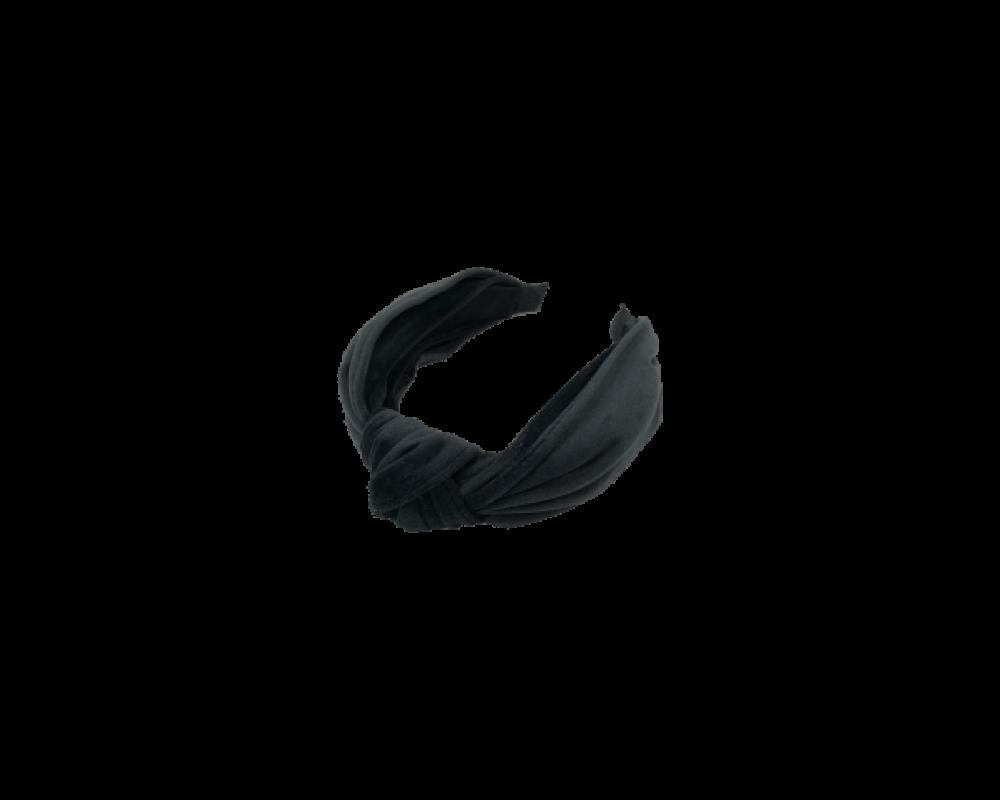 Black Colour hårbøjle sort