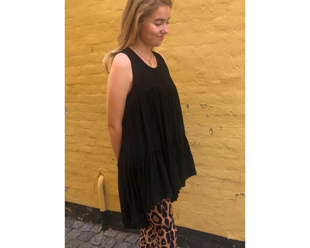 sort tunika black colour kamma