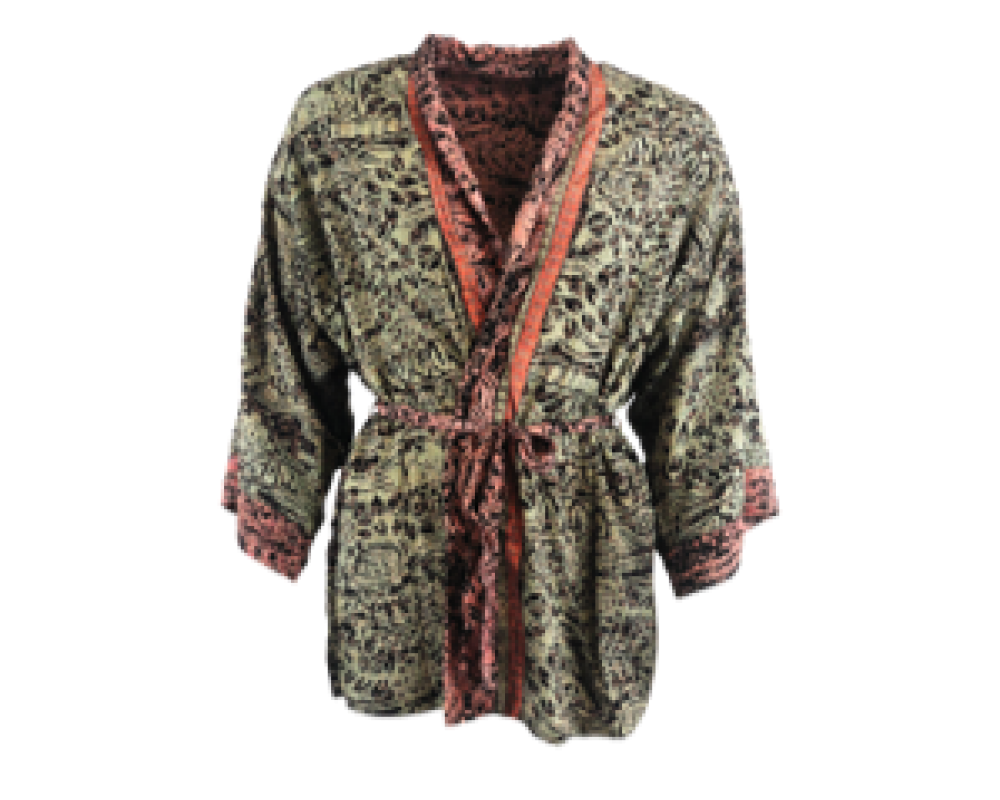 kimono jakke black colour