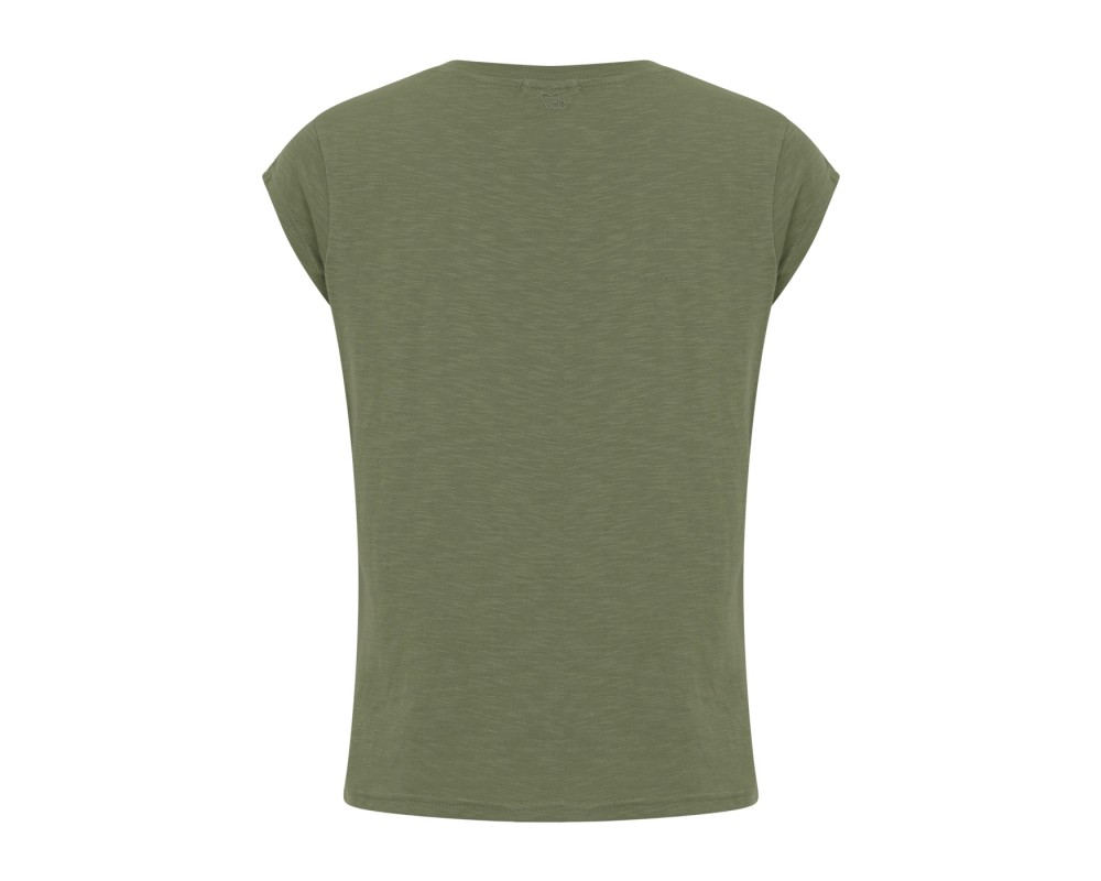 dame t-shirt grøn coster copenhagen
