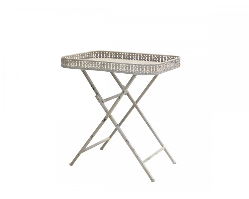Chic Antique bord med blondekant 41395-19