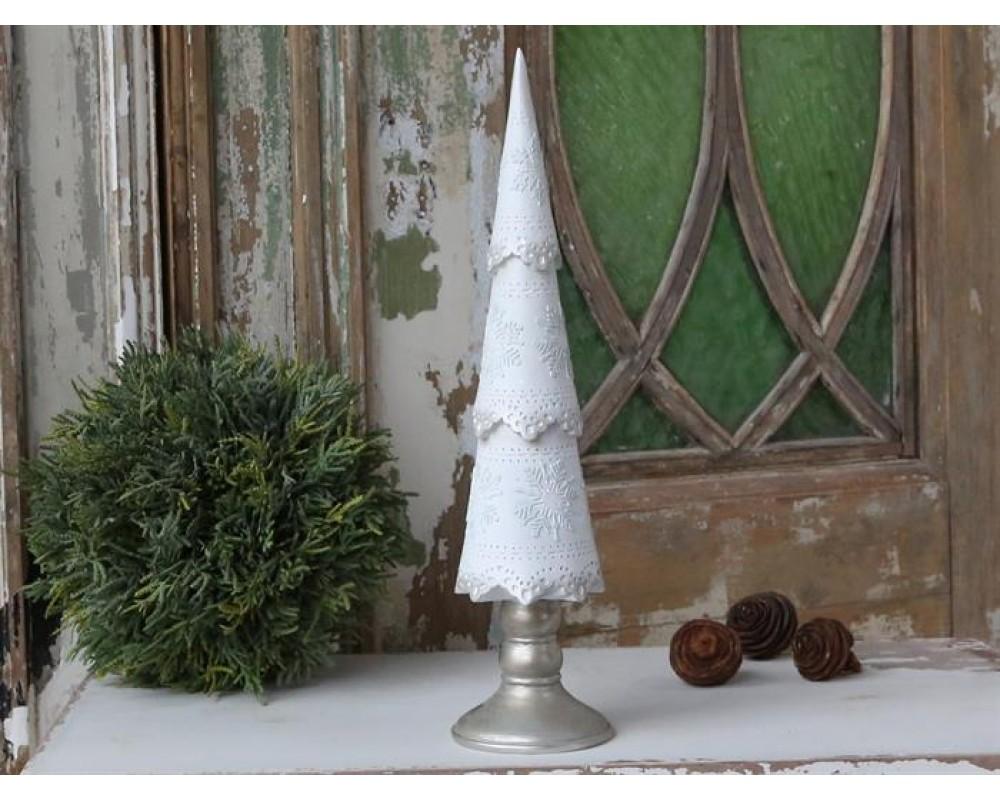 Chic Antique Vintage juletræ m/ glimmer-31