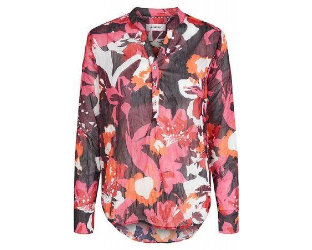 co' couture Coco Augustina Chiffon Shirt