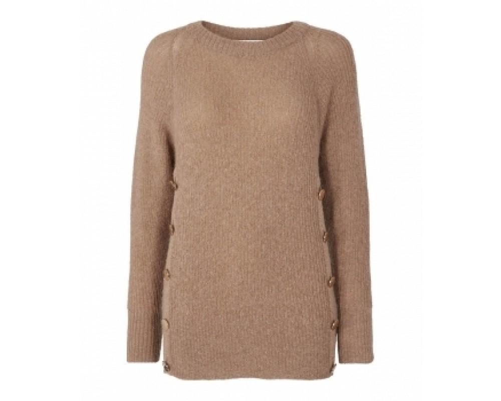 co' couture Eloise Button Knit