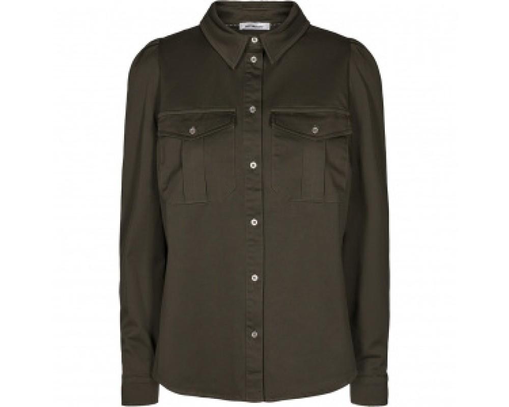 co couture skjorte army grøn