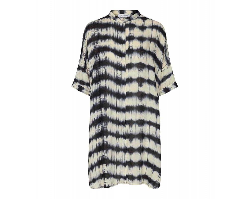 tunika sort og hvid co couture