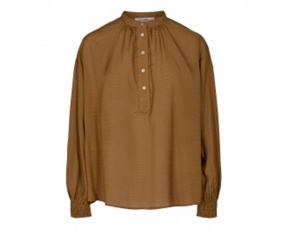 bluse pauline cognac co couture