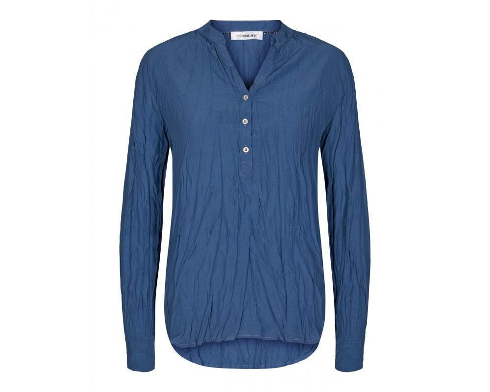 bluse blå co couture