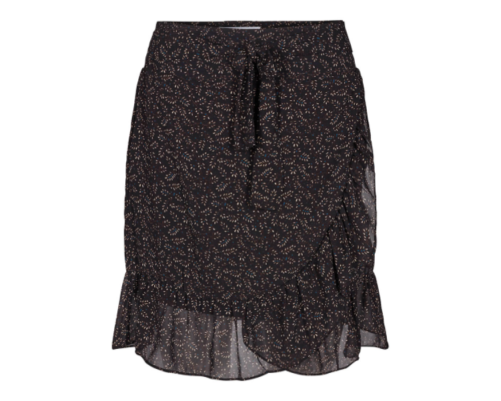 co couture Scribble Flower Skirt-31