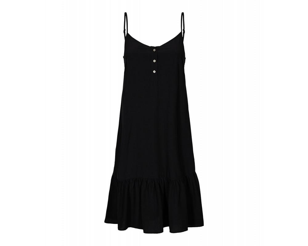 co couture strop kjole sort