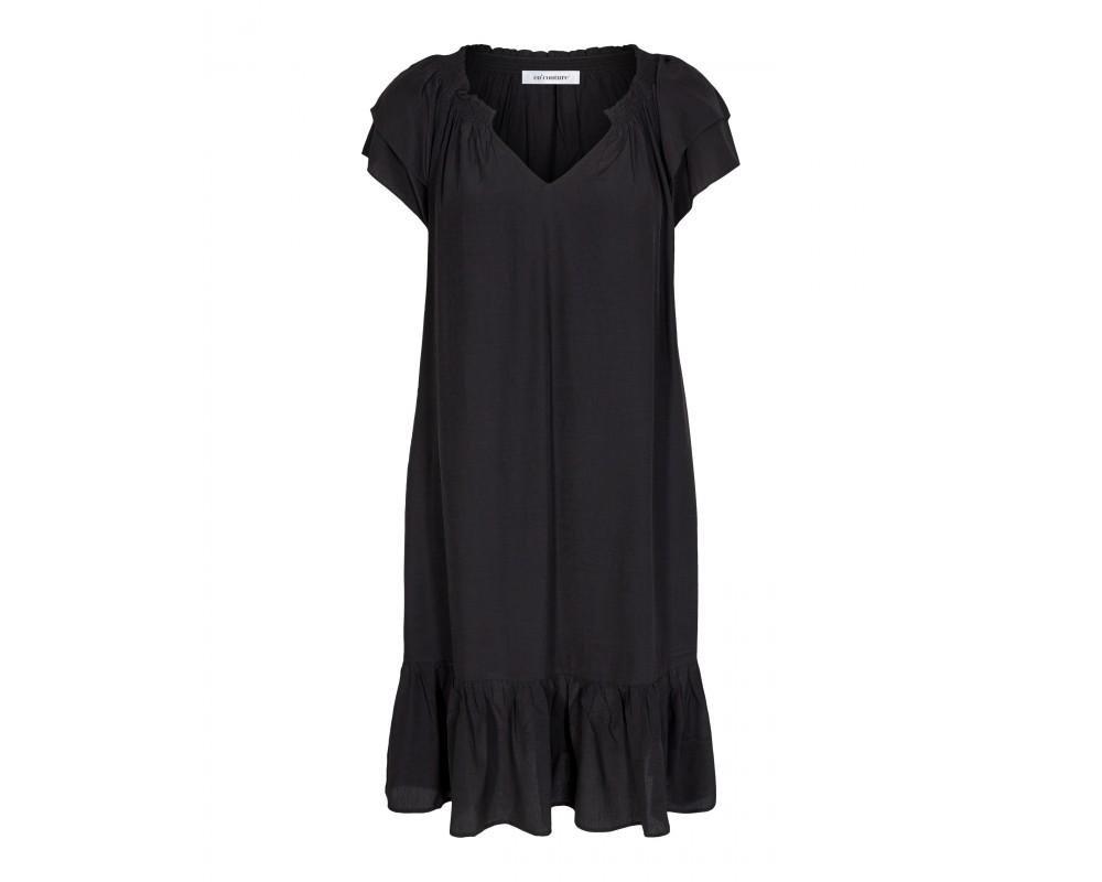 kort sort kjole sunrise co couture