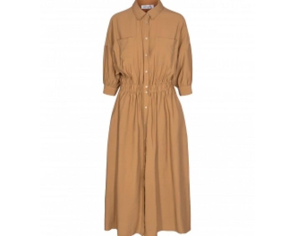 lang kjole khaki co couture