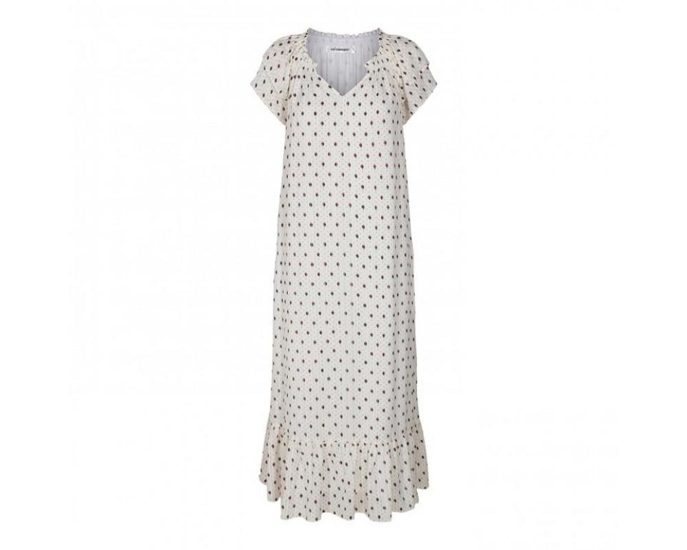 lang hvid sunrise kjole co couture
