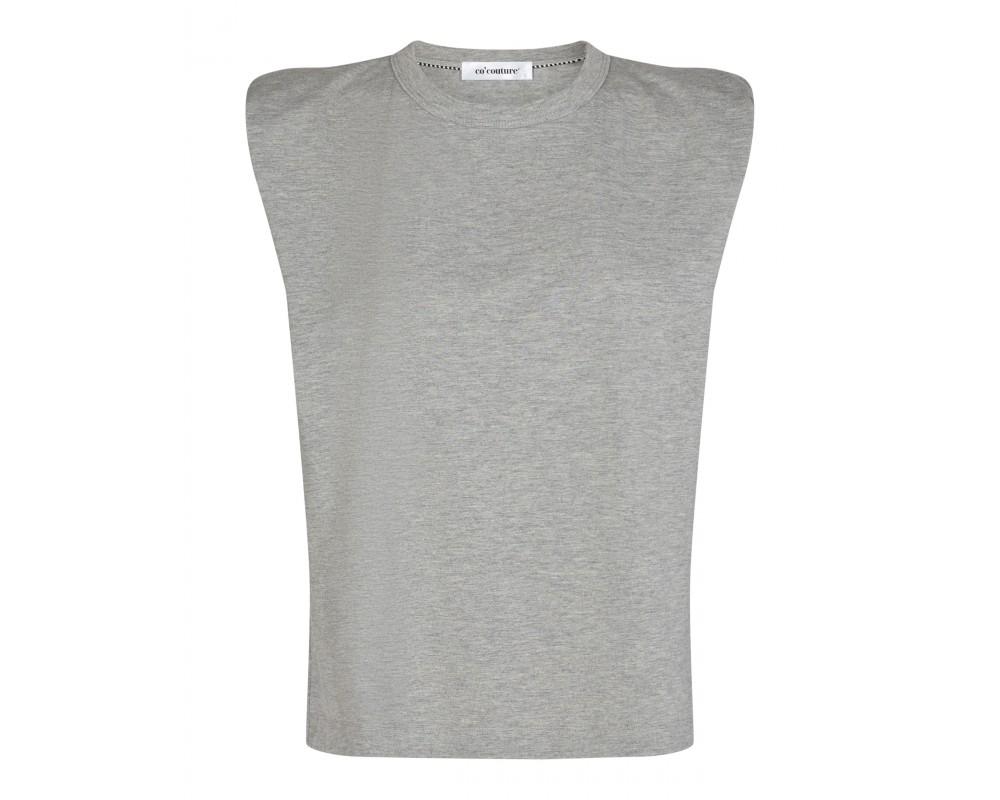 t-shirt med skulderpuder co couture
