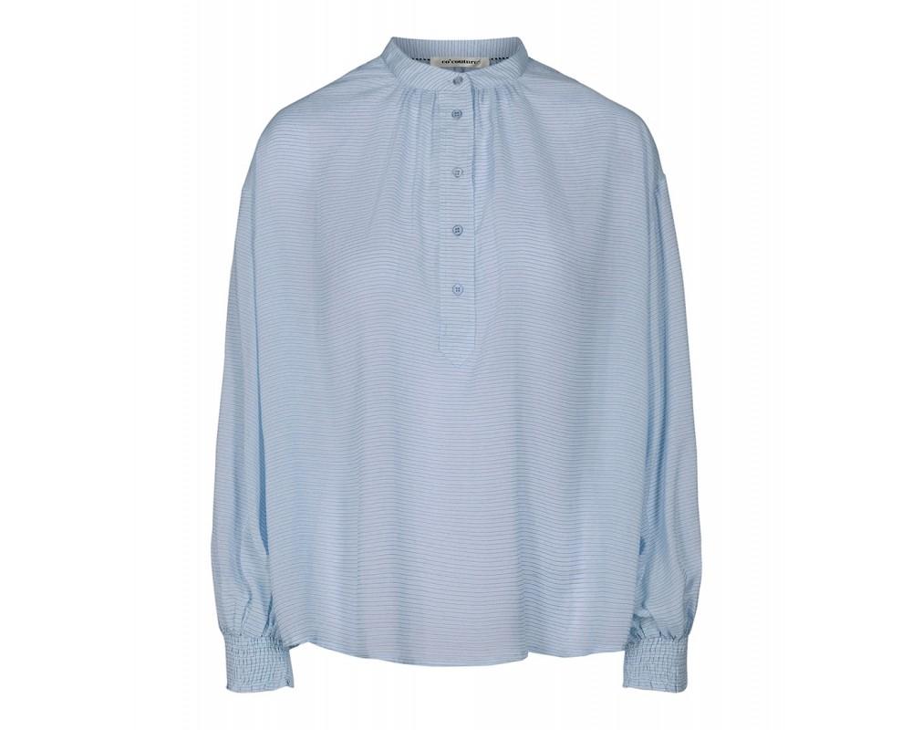 lyseblå bluse co couture