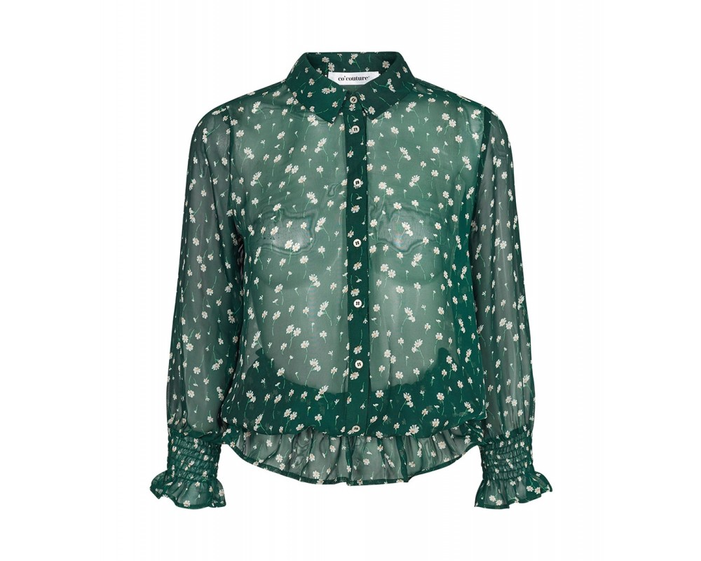 co couture Daisy Smock Shirt Jade-31