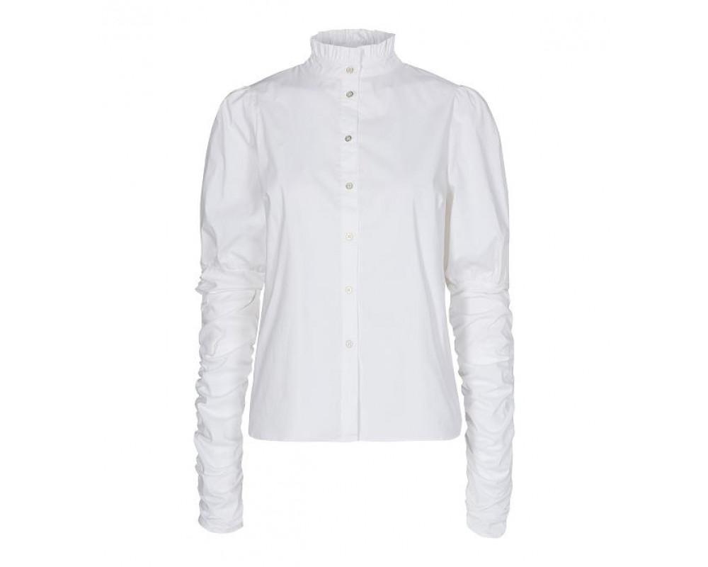 hvid dameskjorte poplin co couture
