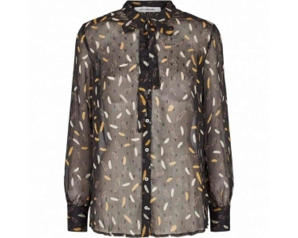 co' couture Maydan skjortebluse sort