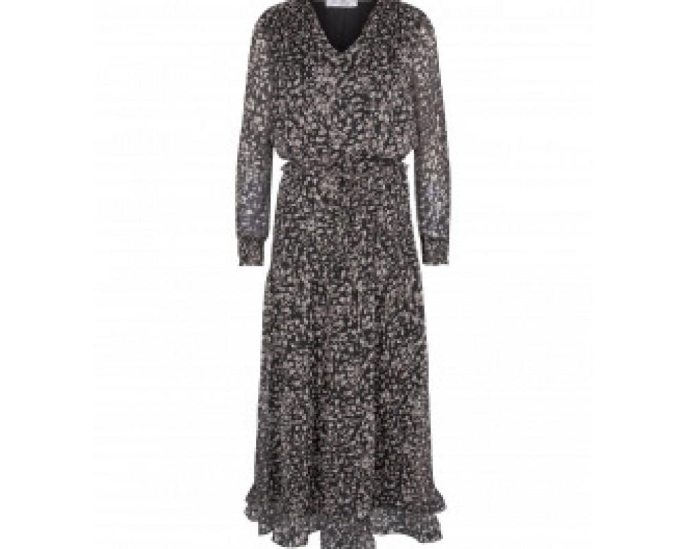 sort lang kjole co couture