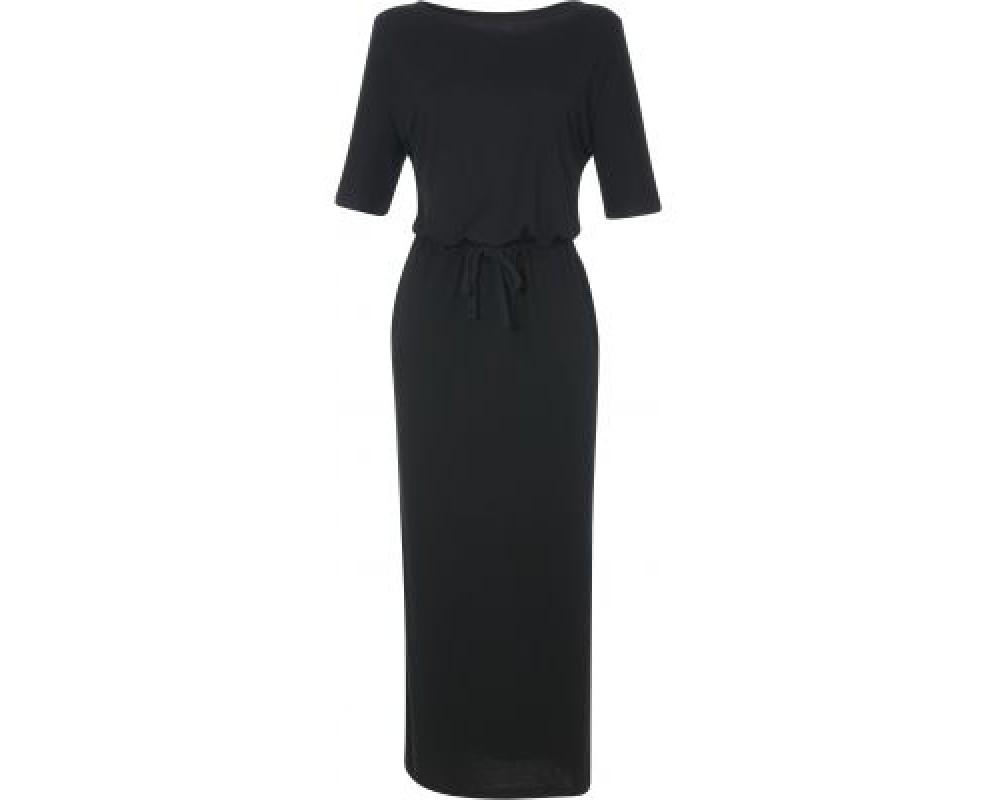 lang sort kjole comfy copenhagen